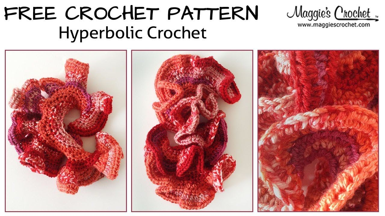 Hyperbolic Surfaces Free Crochet Pattern - Right Handed | GRAFICOS ...