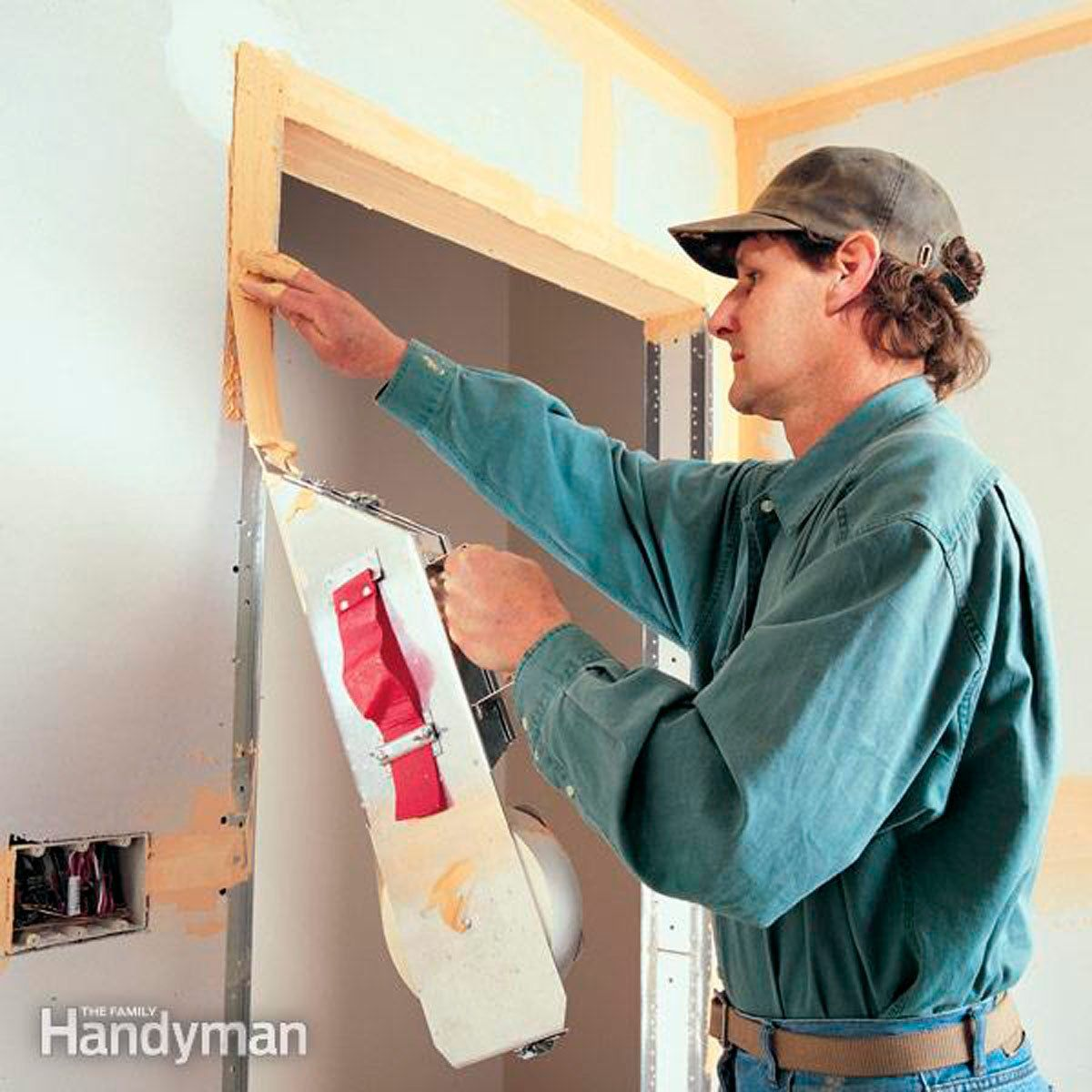 How to Tape Drywall Drywall, Home improvement, Drywall mud