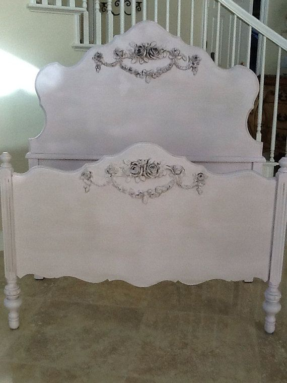 Antique French Provincial Twin Bed By Provincialbutfrench On Etsy 599 00 French Provincial Bedroomfrench Provincial Furniturebedroom