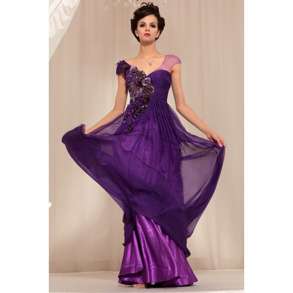 Collection Purple Party Dresses Pictures - Fashion Trends and Models
