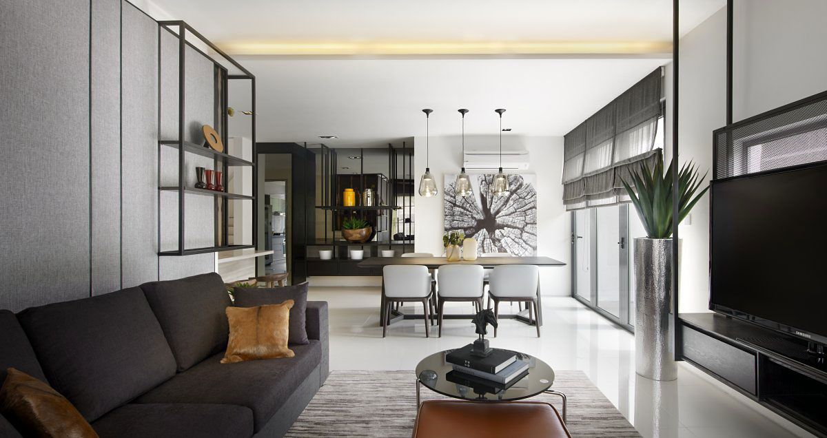 Malaysian Architectural Firm Blu Water Studio Has Designed The Vale Townhouse Located In Kuala Lumpur This Contemporary Townhouse Boasts A Sophisticated