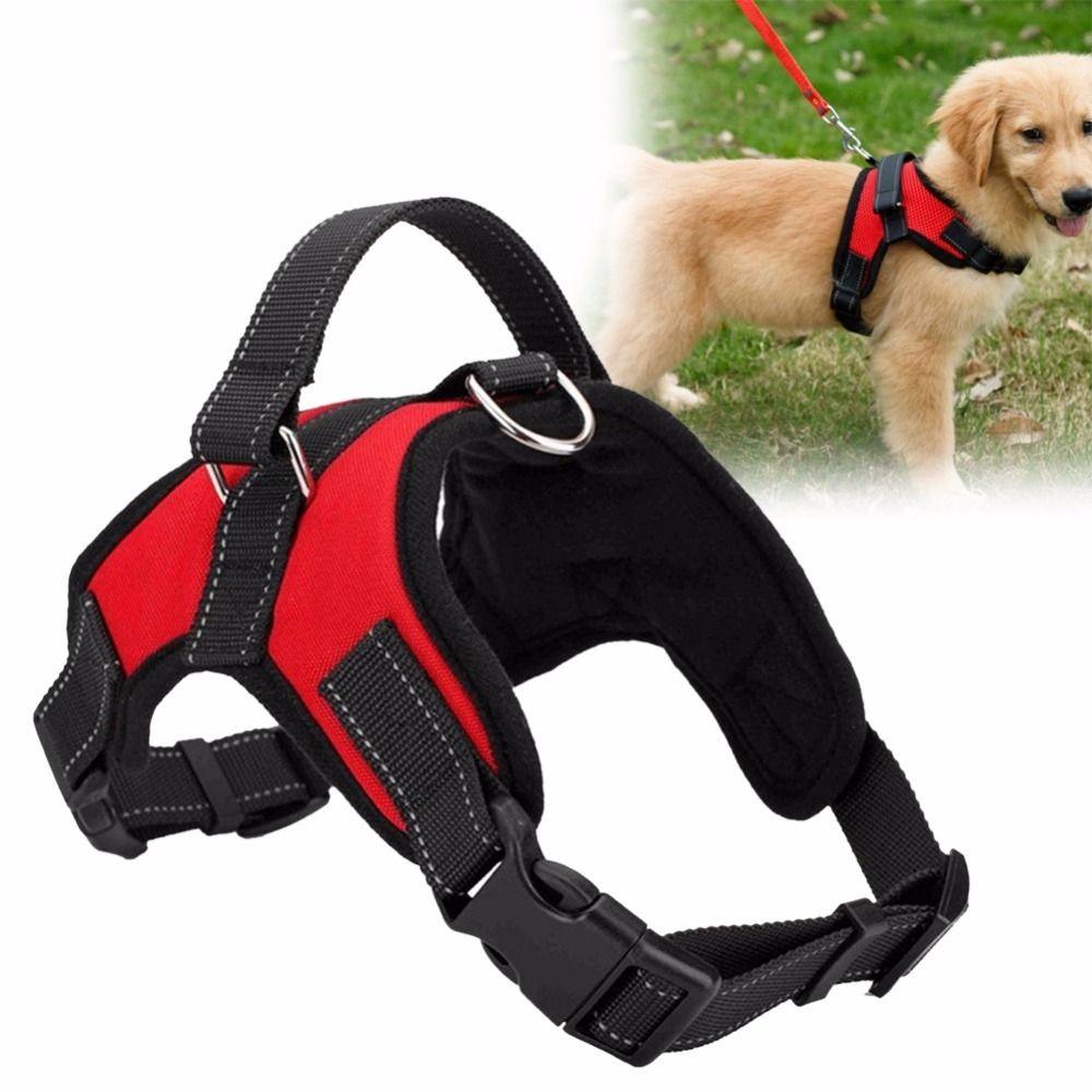 Soft Adjustable Dog Harness Dog Harness Dog Supplies Pet Dogs