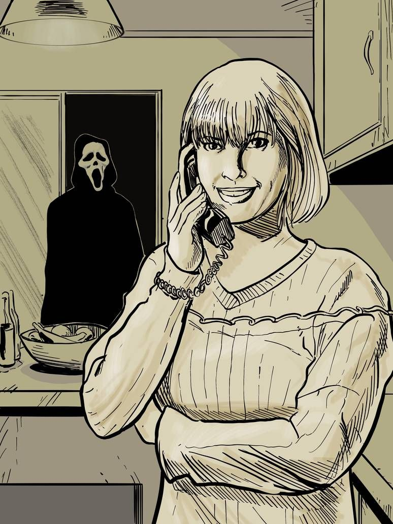 Pin by Etherwise on SCREAM Inktober, Scary movies, Horror