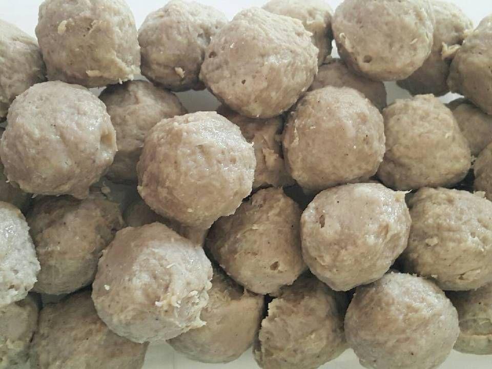 Bakso Sapi Kenyal Enak Tanpa Baking Powder Resep Makanan Minuman Resep Daging Sapi Resep