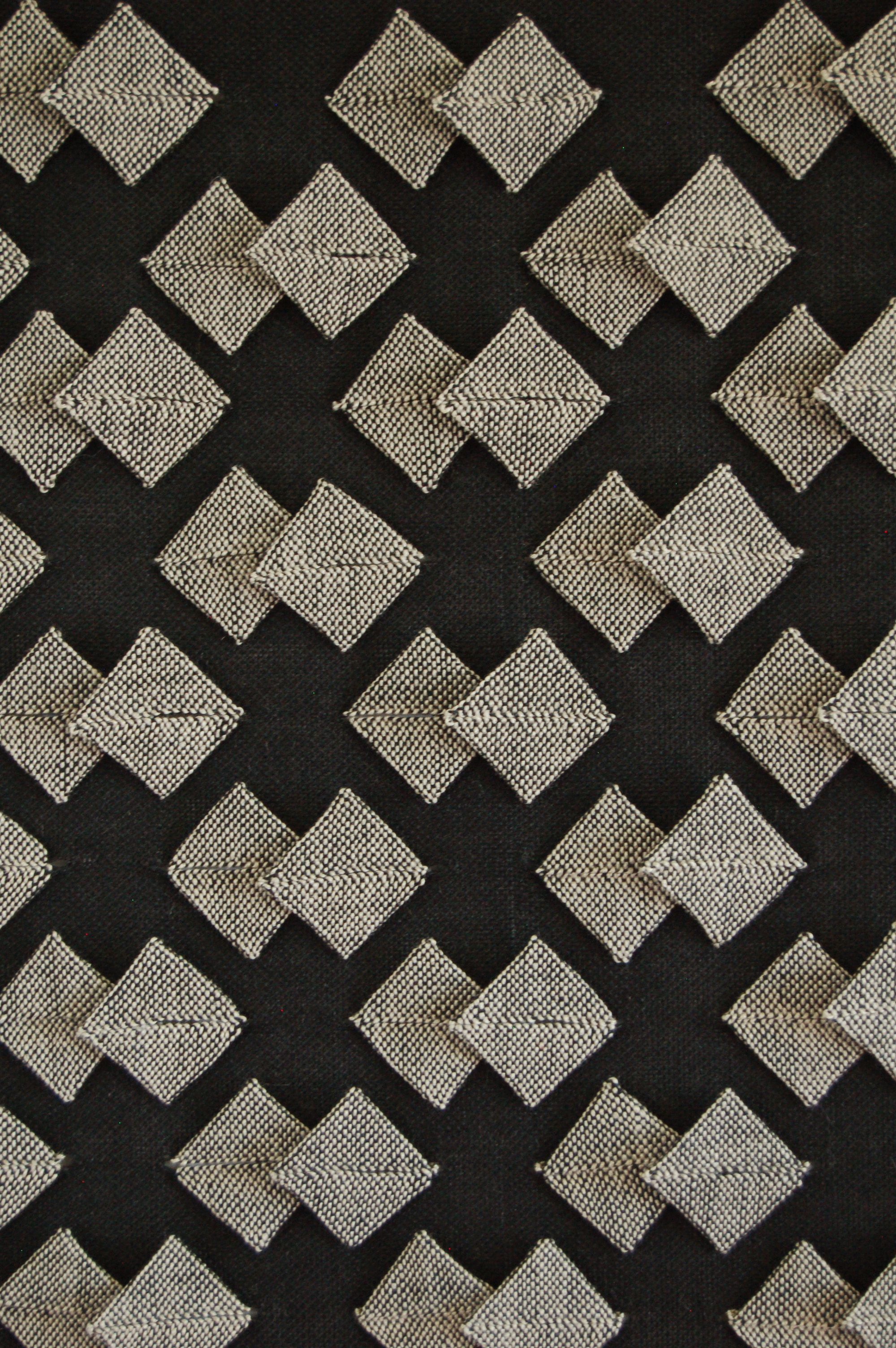 Woven Origami by Susie Taylor.  See more at www.weavingbacktothefuture.blogspot.com
