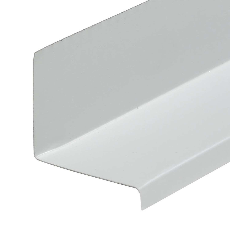 Amerimax 1 1 8 In W X 10 Ft L Aluminum Door Window Cap White In 2020 Brick Molding Aluminium Windows Windows And Doors