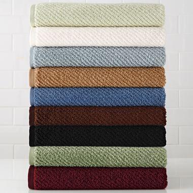 Linden Street Quick Dri Textured Towels Jcpenney Linden