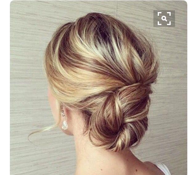 Bridesmaid hairstyle | hairstyle | Pinterest | Bridesmaid ...