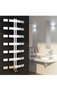 Reina Riesi Polished Stainless Steel Bathroom Heated Towel Rail Radiator 1200 X 600mm Towel Rail Heated Towel Rail Radiators