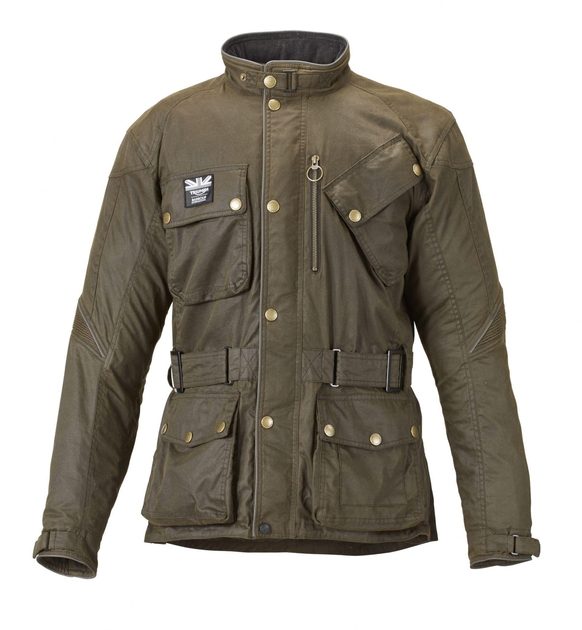 Blouson Barbour Merchant Jacket Olive