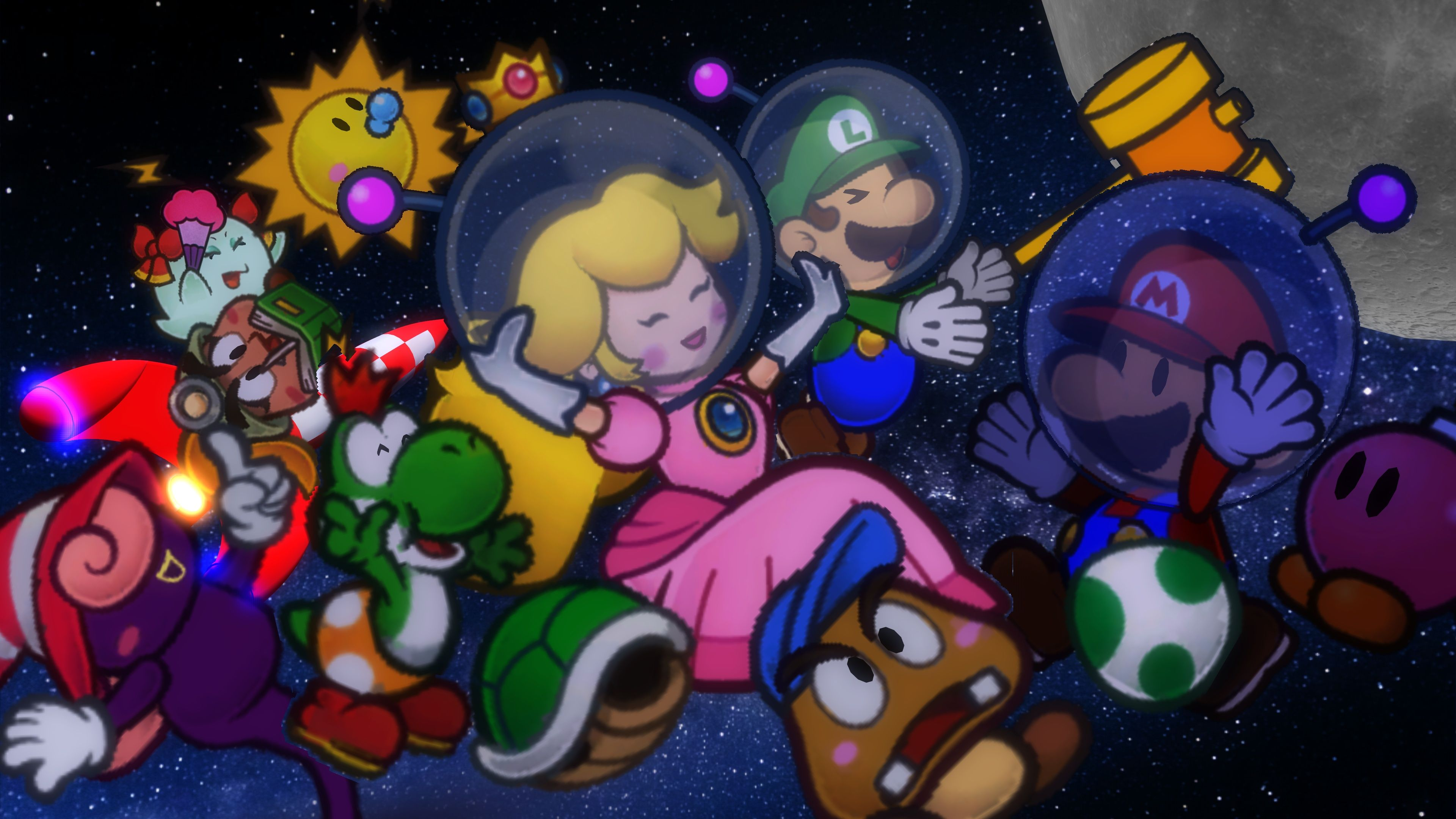 how to play mario party online with friends