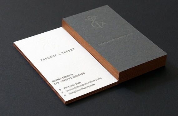 Thought theory business card logosbrandingidentity thought theory business card reheart Image collections
