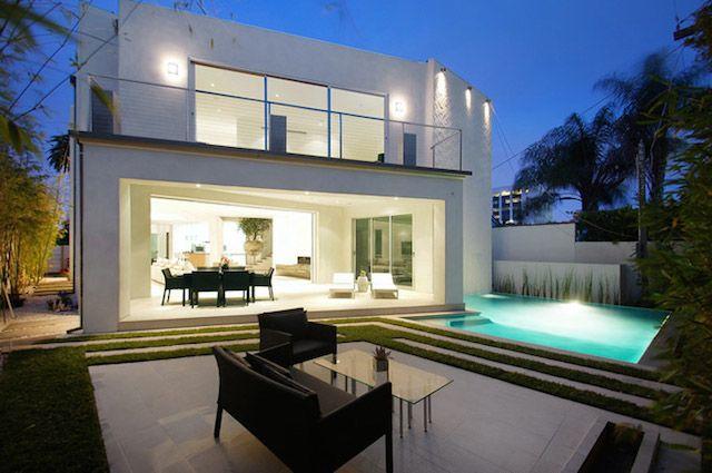 mansfield house in los angeles pinterest maisons contemporaines contemporain et jardins. Black Bedroom Furniture Sets. Home Design Ideas