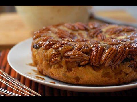 Pastel garapiñado al estilo de Sonia Ortiz por Cocina al natural