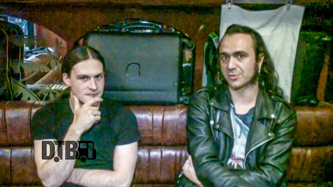 "Metal bands, Septicflesh and Moonspell, talk about pranking on the road, while on the ""Conquerors of the World III Tour"" with Deathstars."