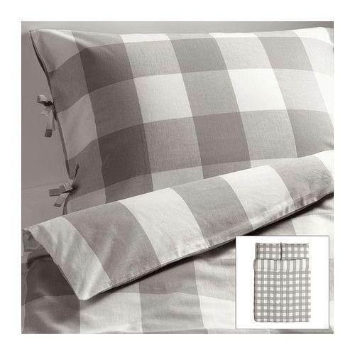 EMMIE RUTA Duvet cover and pillowcase(s) - Full/Queen (Double/Queen)  - IKEA