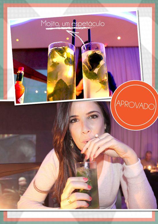O carioca em São Paulo - Bendita Inspiração #sabores #00sãopaulo #restaurante #bar #lounge #gastronomia #carioca #mojito #drink