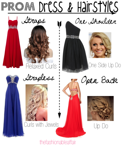 Cocktail Dresses And Hairstyles