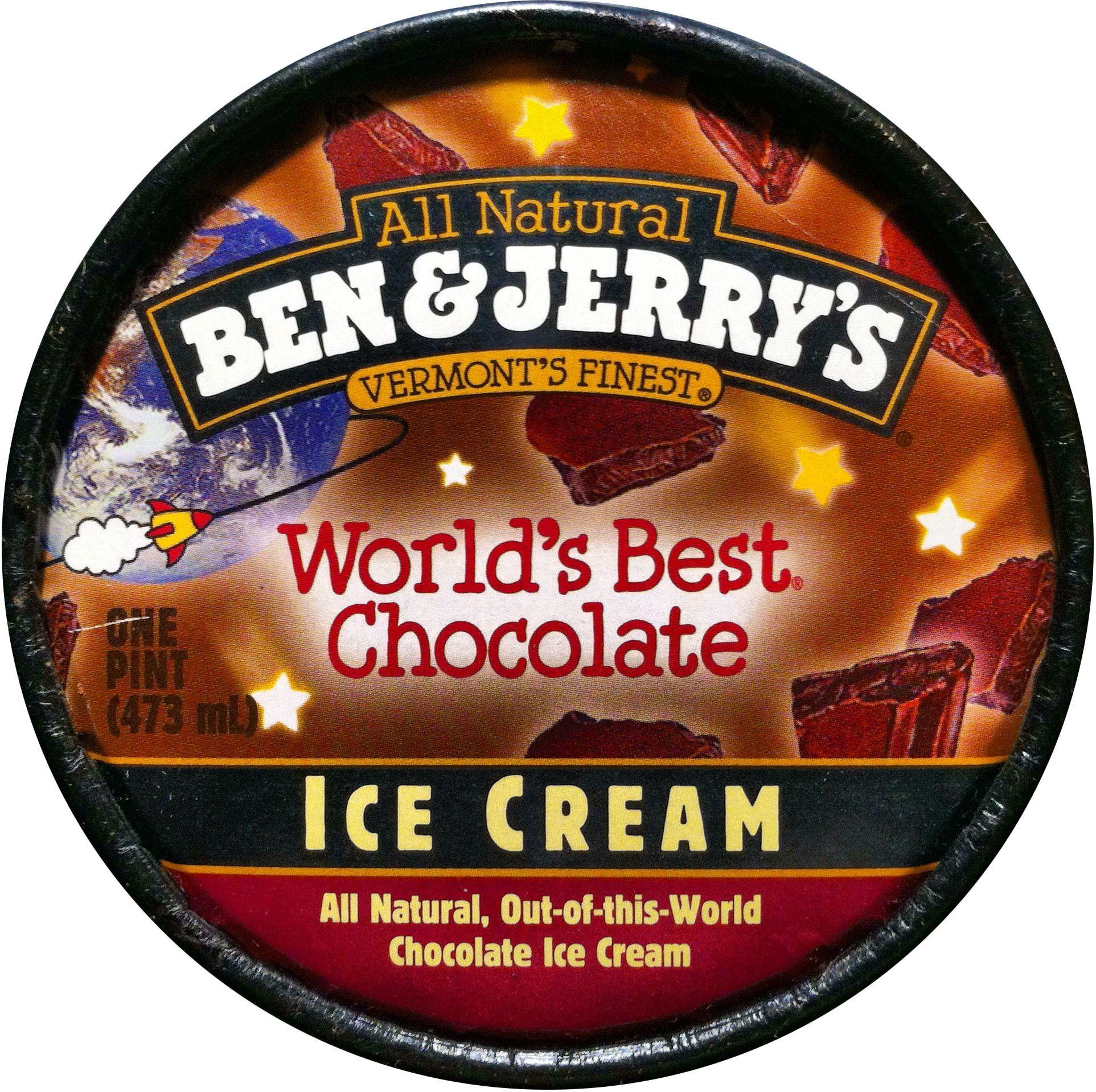 Ben & Jerry's World's Best Chocolate, New for 2000 | 2000 Ben ...