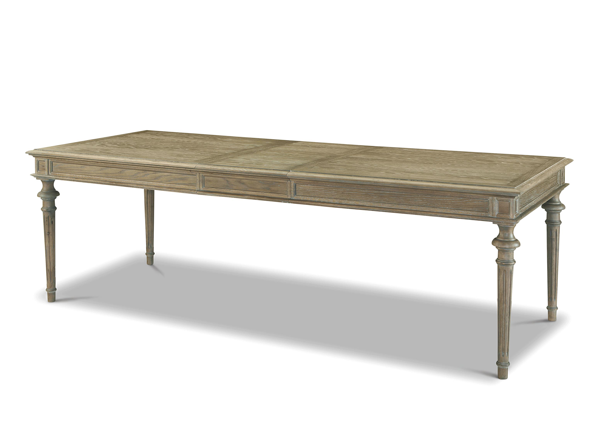Universal Curated Tribeca Leg Table 78x39 W Leaf That