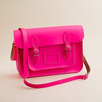 Girls' The Cambridge Satchel Company® fluorescent satchel