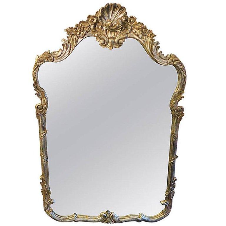 La Barge Wall Mirror Vintage Antiqued, La Barge Mirrors