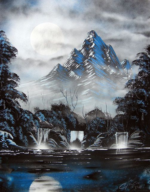spray paint art amazing how he does this with spray paint ia