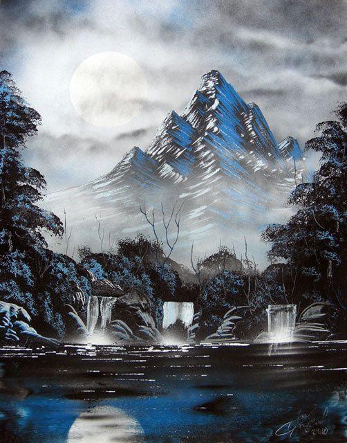 Cool 10 Beautiful Nature Paintings http://designsnext.com/?p=1445                                                                                                                                                     Más