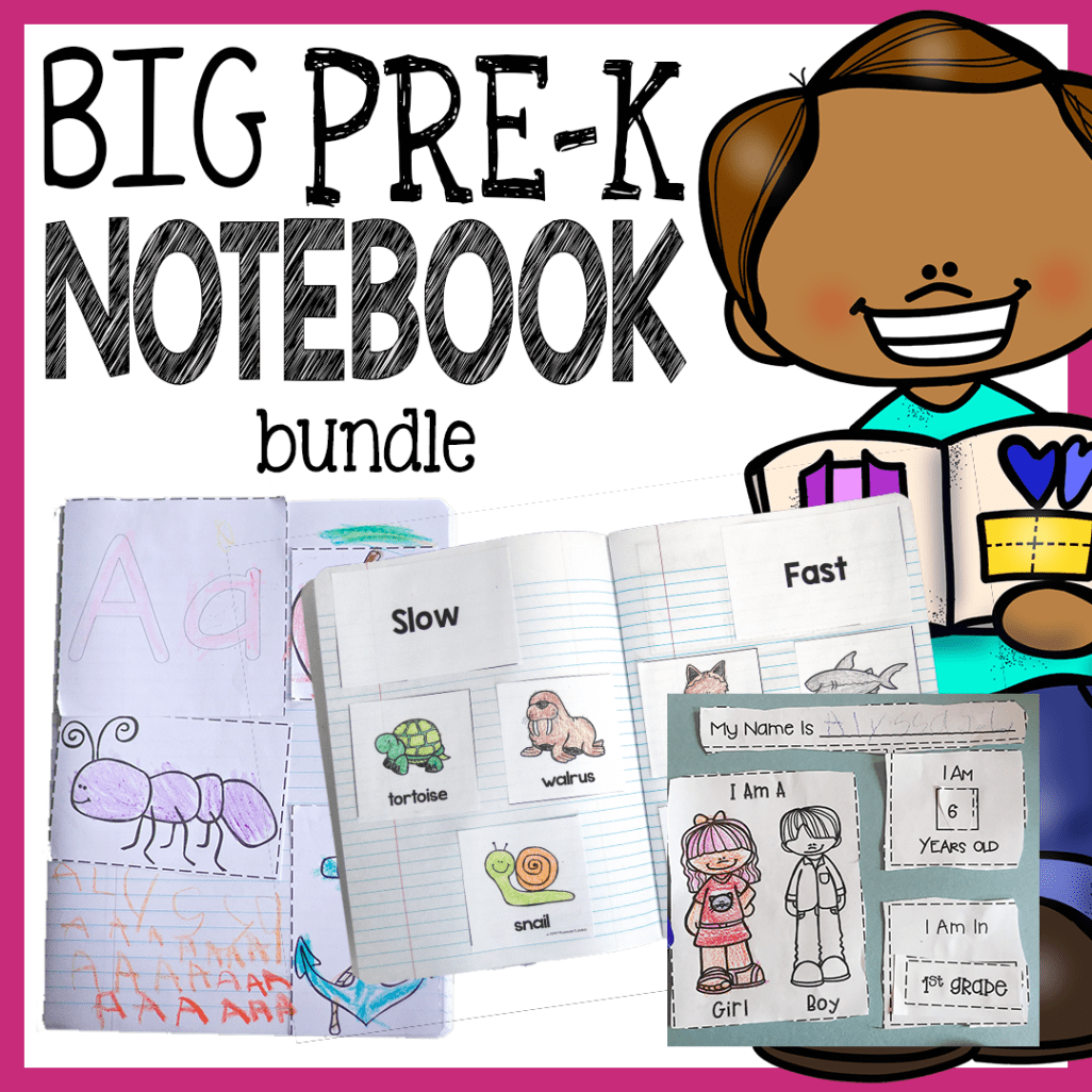 Preschool Interactive Notebook Bundle