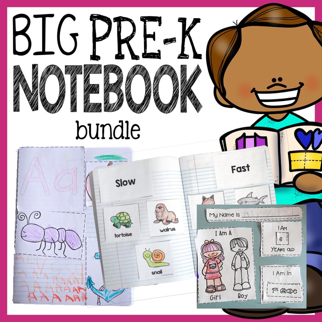 Preschool Interactive Notebook Bundle