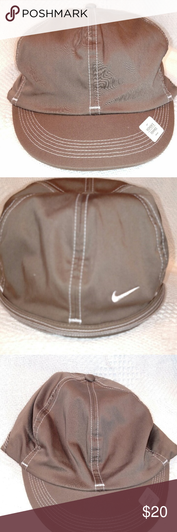 126f87caf2a Nike Wmns Fitted Dri-Fit Golf Cap Khaki-S M NWT Brand New with tags. 100%  Authentic NIKE Product. Women s