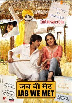 Jab We Met Hindi Movie Online Hd Dvd Bollywood Music Imdb Movies Bollywood Posters