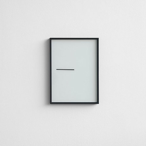 Minimal artwork wall painting this is art no go for Minimalist art pieces