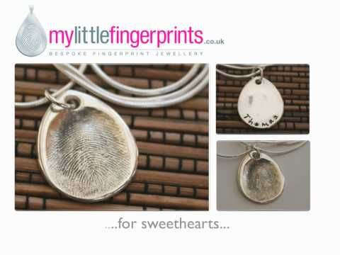 MyLittleFingerprints - Bespoke Fingerprint Jewellery