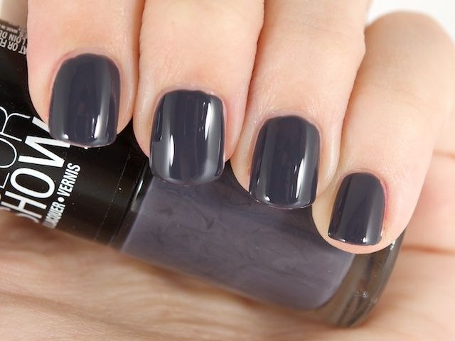 Maybelline Color Show Nail Lacquer in Impeccable Greys Just got this ...