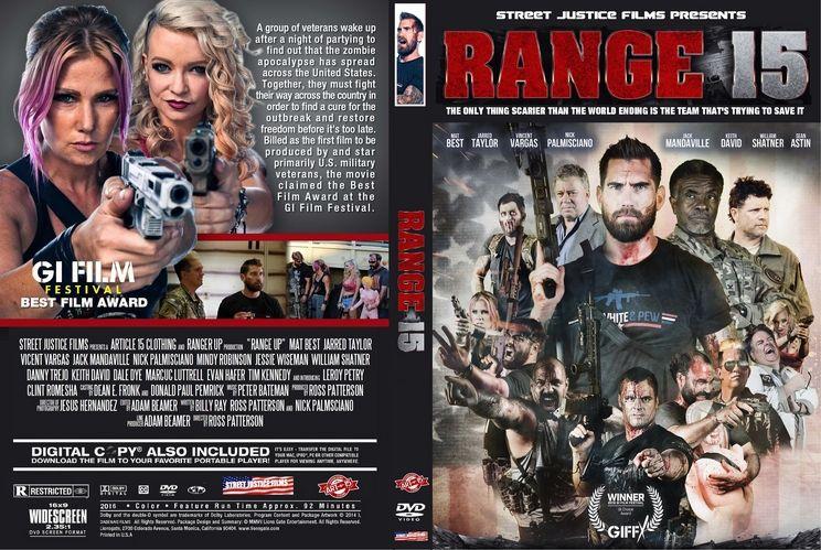 Range 15 2016 Custom Dvd Cover Garrafas Imagens