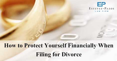 How to protect yourself financially when filing for divorce when you are filing for divorce you protect yourself financially from your spouse in this article author talk about how to protect yourself financially solutioingenieria Gallery