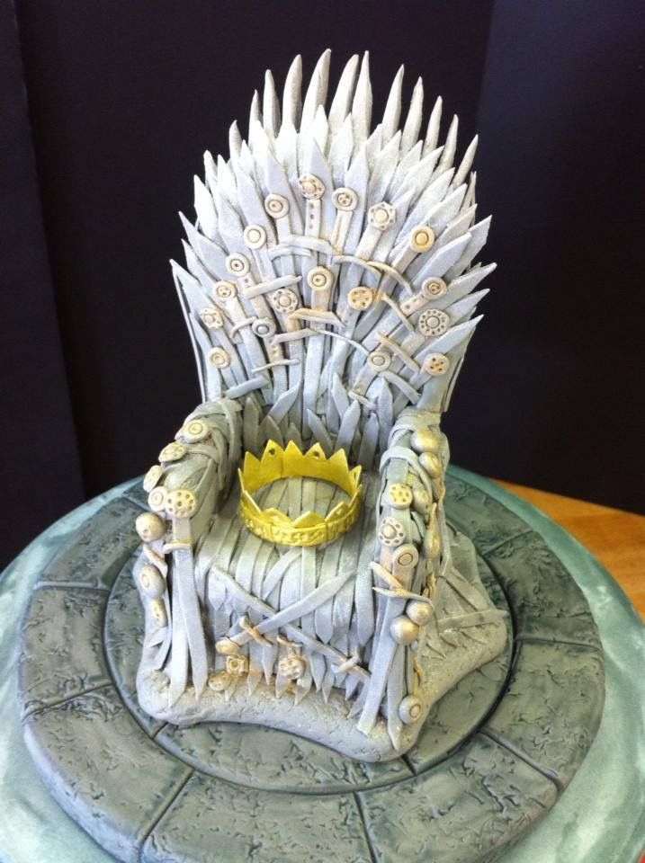 iron throne cake topper | robyn loves cake | Love cake ...