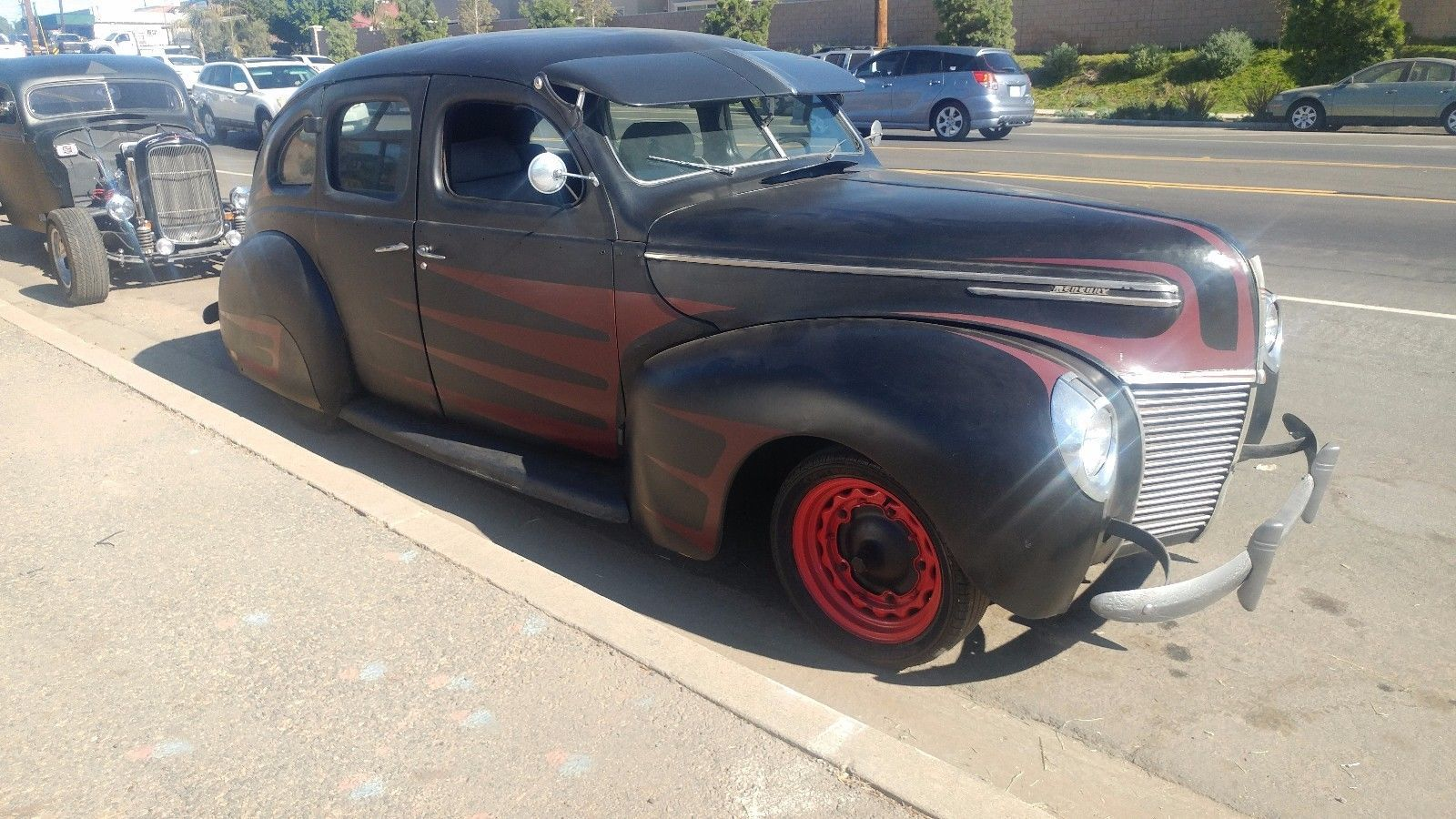 needs lot of work 1939 Mercury Eight Sedan hot rod project | Project ...