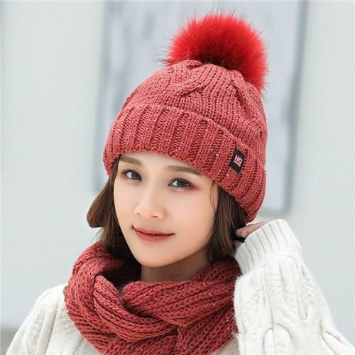 666ef94b1a8 Urban CoCo Women s Winter Cable Knitted Pom Pom Beanie Hat Earflap Caps  (Grey)