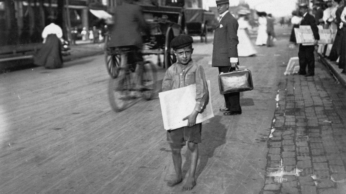 Lewis Hine, el fotógrafo que denunció el trabajo infantil