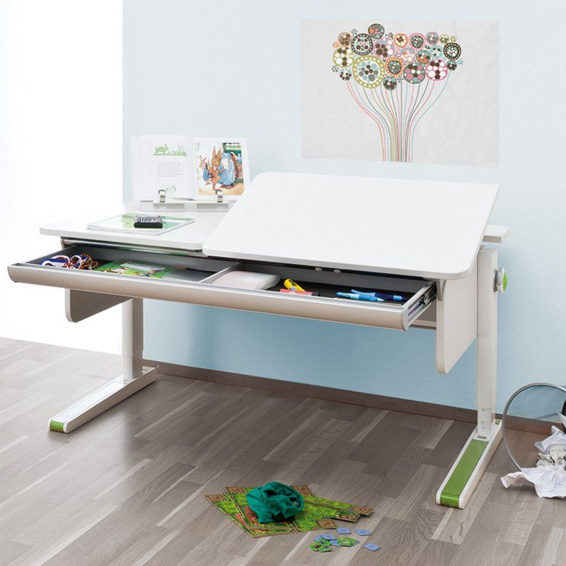 Moll Champion Kids Adjustable Right Up Desk with 8 Color ...