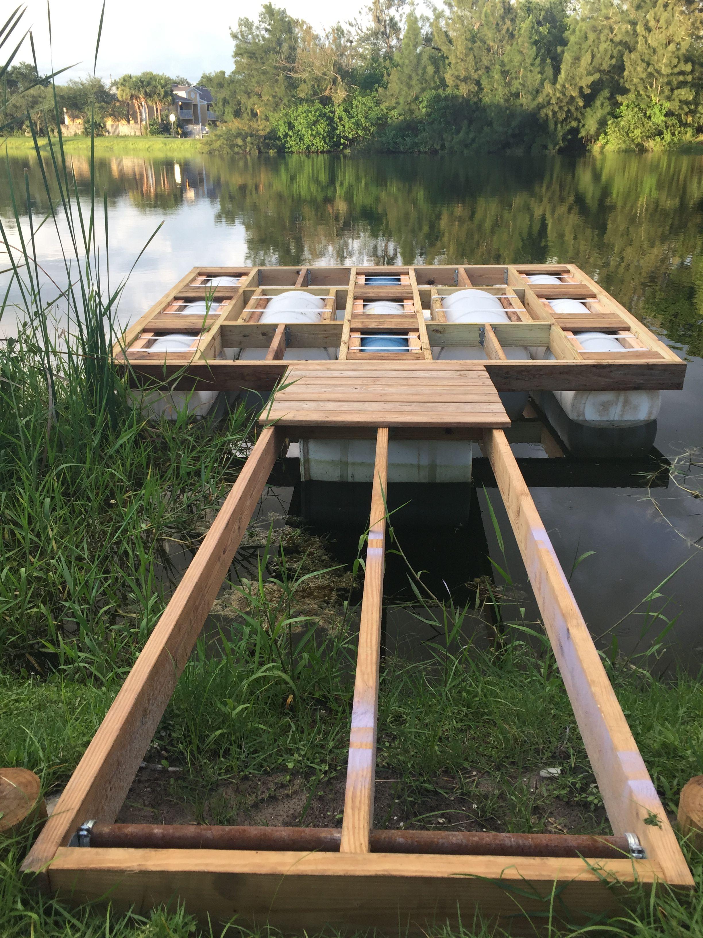 Floating Docks Lakefront Living Floating Dock Plans Building A Dock