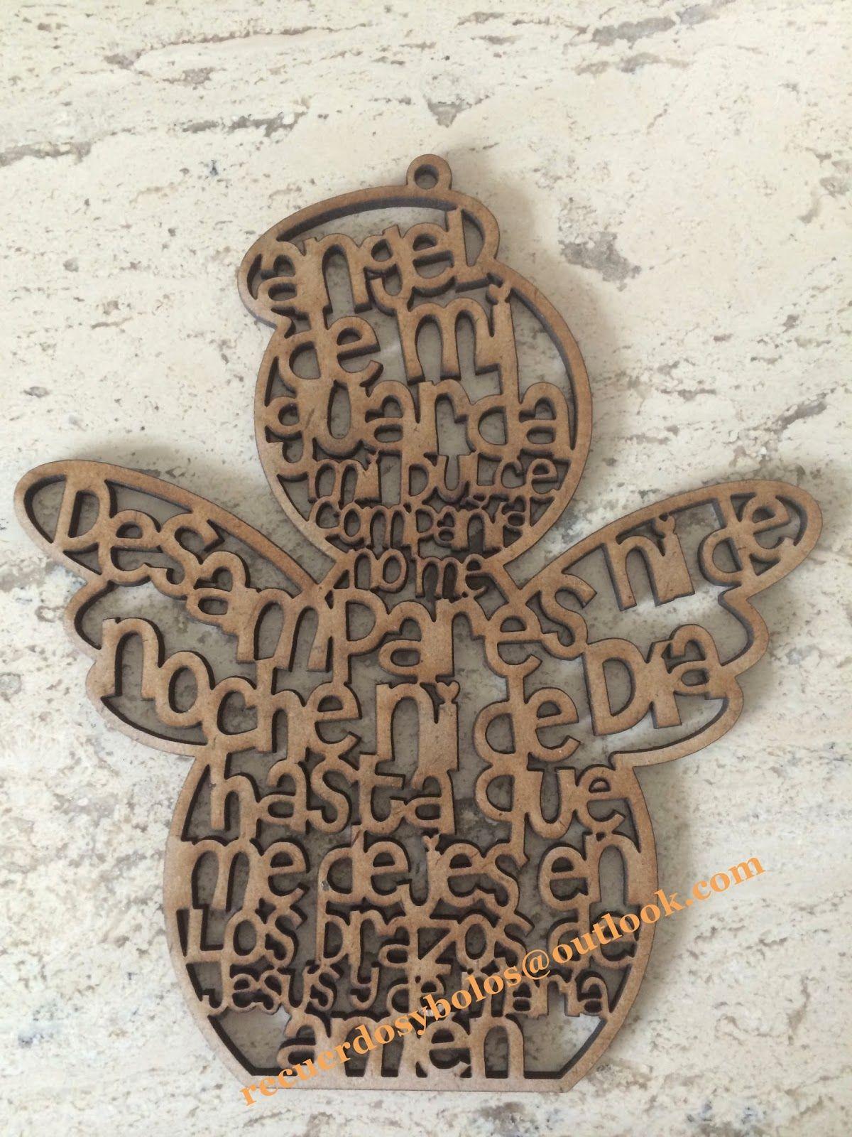 dc2b46c1896 Bolos y recuerdos para Bautizo y Primera Comunion  Cruces de madera con el  Padre Nuestro