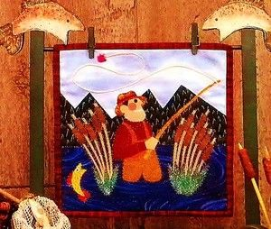Fly Fishing Quilt Pattern New