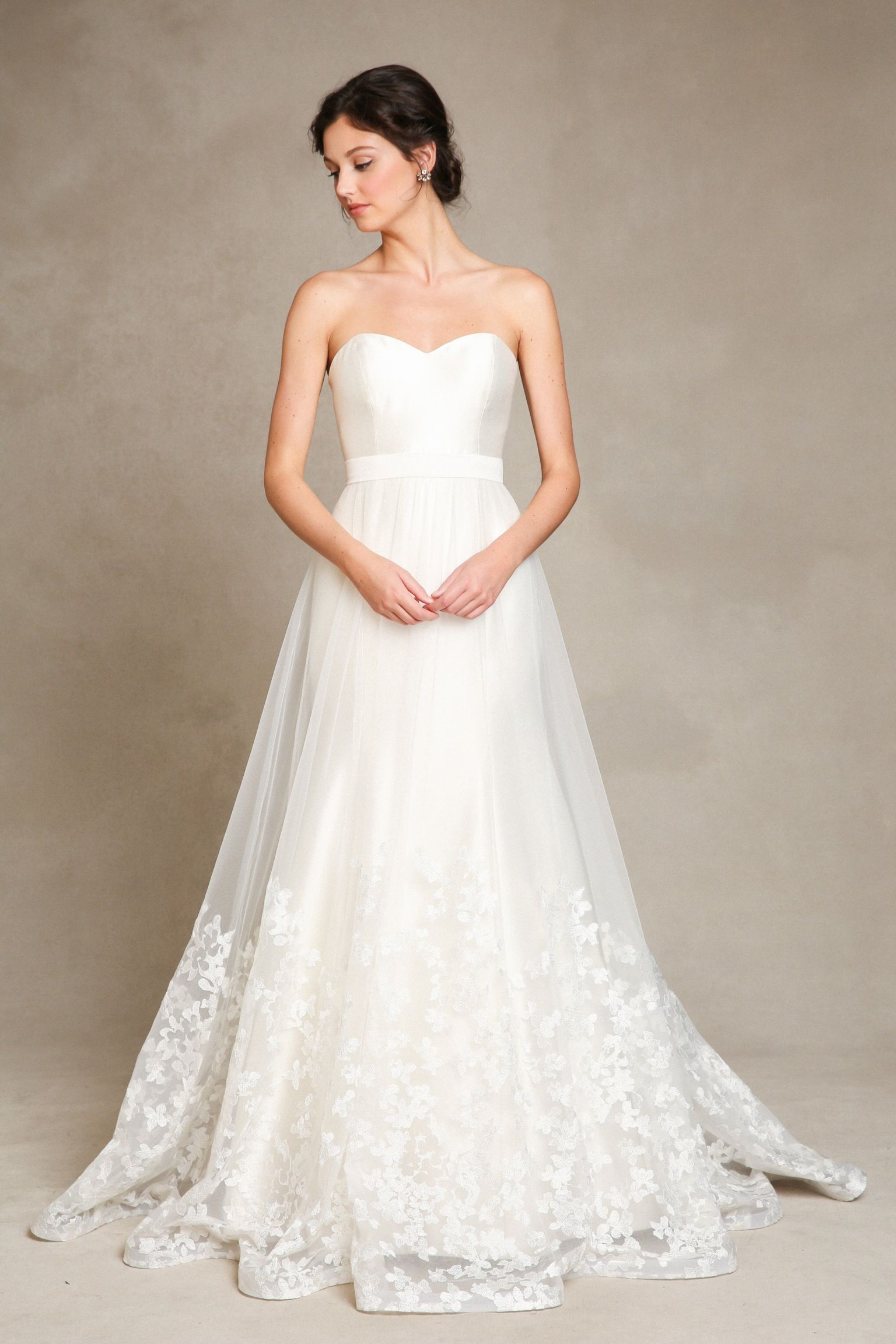 Nice Jenny Yoo London Gown $1695 U0026 London Skirt $550 A Clean And Simple Gown For  The More Classy Bride. Available In Antique White.
