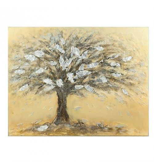 OIL WALL PAINTING CANVAS W_TREE 100Χ2X80