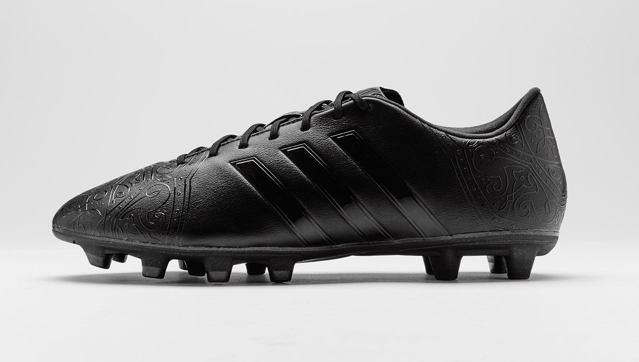 adidas all black soccer boots