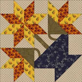 flower basket quilt block basket naturalistic motifs such as flowers leaves and vines have ...