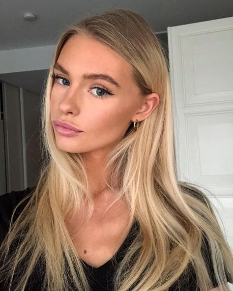 30 Best Natural Daily Makeup Looks For Any Season Light Blonde Hair Blonde Hair Looks Blonde Hair Color